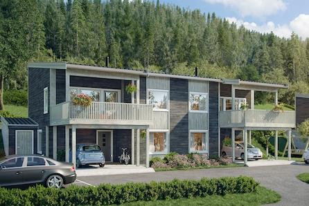Suksessen i Mallasvika fortsetter med 2. byggesteg! Familievenleg tomannsbustad med carport og flott utsikt.