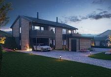 Illustrasjon Fasade - Illustrasjonen vil avvike fra virkelig miljø og omgivelser.
