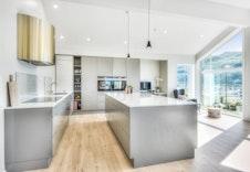 Bilder frå ein ferdigbygd bolig for ein av våre kunder. (Leveranse vil avvike frå bildet)