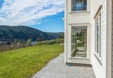 Bilder frå ein ferdigbygd bolig for ein av våre kunder. Lekkert, ikkje sant? (leveranse vil avvike frå bildet)