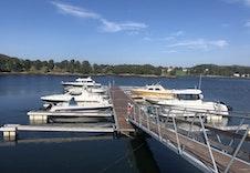 Det er planlagt utviding i antal båtplassar.