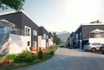 Marketunet, Vigra - Nøkkelferdige eneboliger med store terrasser, 4 sov, carport!