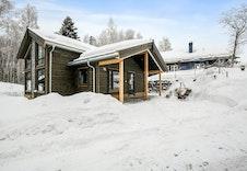 Midthø visningshytte på Norsk Hyttesenter (foto).