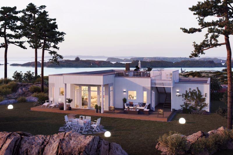 Med unik beliggenhet ved sjøen i Tingvollvågen finner du Rimstadbukta boligfelt.