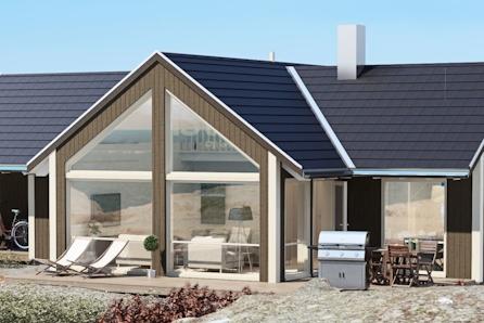 SJØ og FJELL- Prosjektert Portus  med 3 soverom.  Gode solforhold og panoramautsikt.