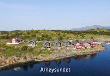 Arnøysundet sjøtomter. Tomt 17 er solgt. Bildet er en illustrasjon som vil avvike fra virkeligheten.