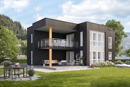 Ny og moderne enebolig med idyllisk plassering - Sommarøy!