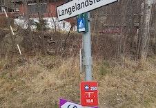 Veiskilt Langelandsfaret