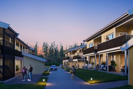 """Nye leiligheter på GRANRUDTUNET, ØYER. Solrik beliggenhet med nærhet til """"alt""""! Lettstelte boliger på ett plan!"""