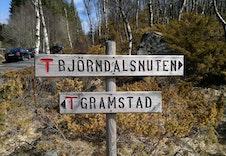 Mange flotte turområder i umiddelbar nærhet.