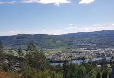 Utsikt fra Lunaveien