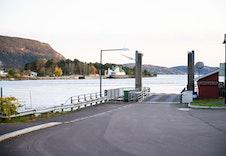 Norges korteste ferjetur over til Hurum.