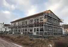 Bilde av fasaden fra 6. januar 2020