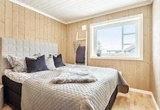 Ferdig kundetilpasset Gråhø hytte.