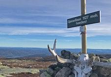 Høyeste toppen på Vikerfjell