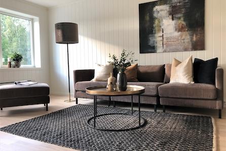 Ny innflyttingsklar 4-roms leilighet m/hvitevarer og  garasje i Hønefoss.