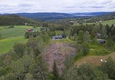 Åpent landskap i Haugsbygd.