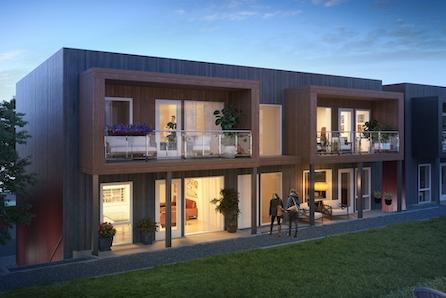 SØRUMSAND // Nye, lekre 4-roms leiligheter med garasje. Mulighet for visning i tilsvarende leilighet.
