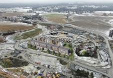 Slik kommer byggene til å se ut på feltet når de er ferdigstilt.