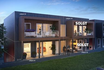 SØRUMSAND // Nye og lekre leiligheter med garasje. Kort gangavstand til sentrum og tog. 2 solgt !