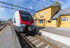 Gangavstand til Sørumsand stasjon.