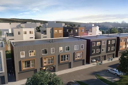 SØRUMSAND // Nye, flotte rekkehus (med 3 soverom og 2 stuer) og 2- roms leiligheter på nytt boligfelt. Kort vei til tog.
