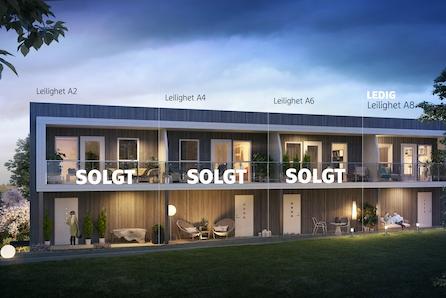 SØRUMSAND // Nye, flotte rekkehus og leiligheter med carport/garasje. Kort gangavst. til sentrum/tog. Halvparten solgt!