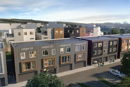 SØRUMSAND // Nytt salgstrinn! Nye, flotte rekkehus og 2- roms leil. Garasje/carport. Byggingen er godt i gang!
