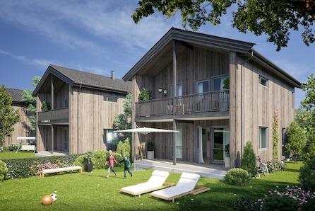 KLØFTA/BORGEN: Effektiv og moderne enebolig|3 sov|åpen stue/kjøkkenløsning|nyetablert  boligfelt nært skole/barnehage
