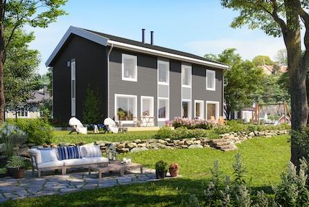 ULLENSAKER/NORDKISA - Flott tomannsbolig med god planløsning - Trafikkstille - Gode solforhold - Tilvalgsmuligheter