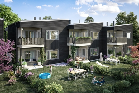 Maura/Nannestad // Nye lekre 2, 3, og 4-roms leiligheter. Gjør boligdrømmen komplett med ferdig innredet leilighet! *