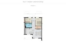 Planløsning 3-roms leilighetene.