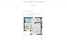 Planløsning 2-roms leilighetene.