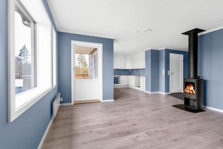 Maura/Nannestad // Ny 3-roms leilighet - Ferdig innredet* - Fastpris og lave omkostninger. Carport og overbygd balkong.