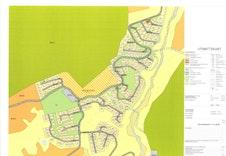 Oversiktskart tomter på Turufjell