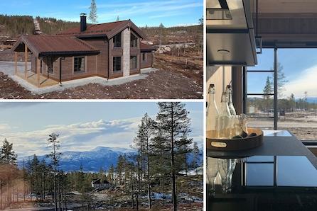 Innflytningsklar romslig hytte på nydelige Turufjell ved Flå i Hallingdal - rett ved alpinanlegg og flotte turstier!