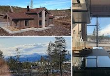 Denne hytten, Sletthø fra BoligPartner, er innflytningsklar!