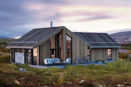Innholdsrik hytte m/hems, stue/kj. 44 m2. Gode alpin-, langrenns- og helårlige turopplevelser. Kort kjørevei fra Oslo