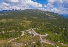 Områdebilder fra hytteområdet på Brennkollen på Norefjell