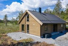Hele bildeserien er av en Storåsen modell bygd for kunde på Norefjell.