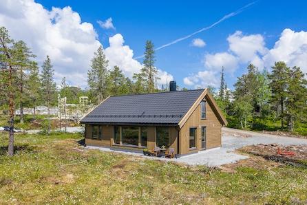 Norefjell/Brennkollen - Prosjektert Tur hytte fra Boligpartner med 4 soverom og 120 kvm gulvflate.