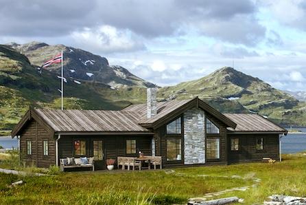 Norefjell/Brennkollen - Romslig familiehytte(modell Utsikten) med 126 kvm BRA prosjektert på tomt B34
