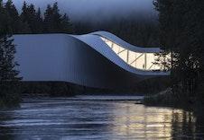 The Twist. Omtalt som et av årets vakreste bygg. Photocred: Laurian Ghinitoiu/ Kistfos museet