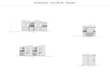 Klukestien 21 25 Plantegninger Finn Hus 24 25 Fasader