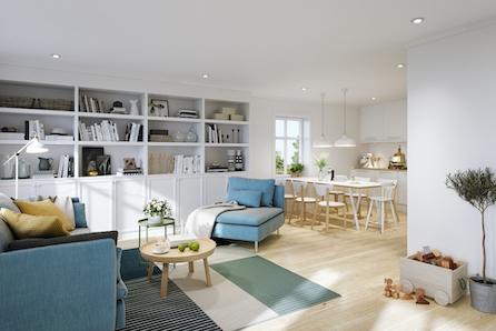Nytt fint hus på stor tomt med flott beliggenhet. 1 tomt solgt, 2 tomter reservert, så ikke nøl med å ta kontakt.