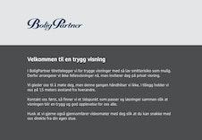 Velkommen til trygg visning med BoligPartner.