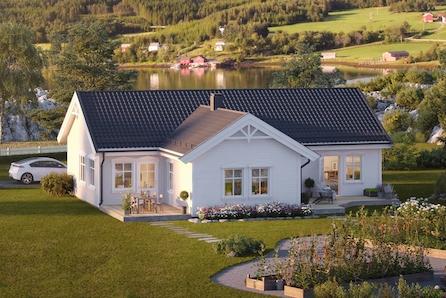 KAMPANJE! Vang - Nytt hus med alt på én flate. Fin og landlig beliggenhet. Kun 12 min fra Hamar sentrum. Ta kontakt!