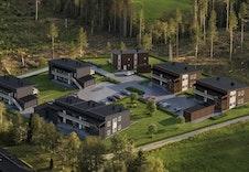 På Slettvoll i Øvre Vang kan du skape ditt drømmehjem i fantastiske omgivelser på nytt boligfelt. (illustrasjonen kan avvike fra standard leveranse)