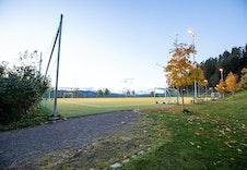 Skogen Sør har egen fotballbane!
