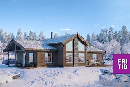 Nøkkelferdig familiehytte på Nordseter i Lillehammerfjellet. Stor, solrik selveiertomt. Inkl tomt, grav/betong.